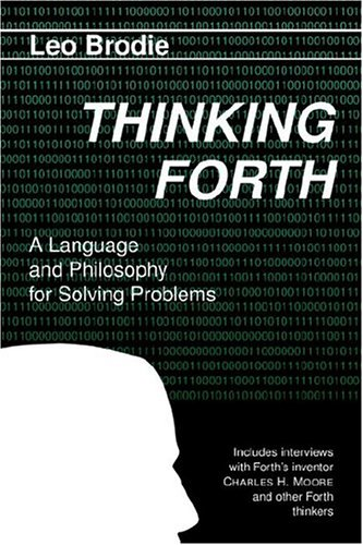 Large book cover: Thinking Forth
