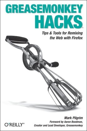 Large book cover: Greasemonkey Hacks