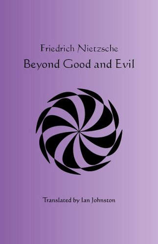 Large book cover: Beyond Good and Evil