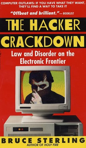 Large book cover: The Hacker Crackdown