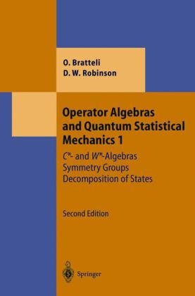 Large book cover: Operator Algebras and Quantum Statistical Mechanics