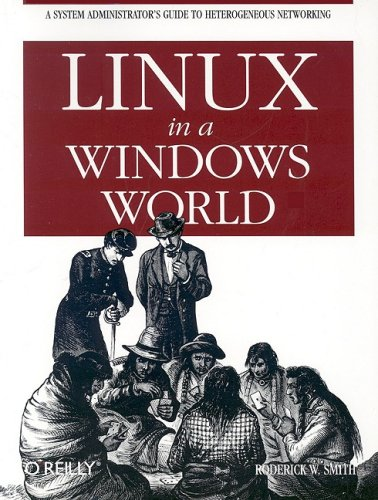 Large book cover: Linux in a Windows World