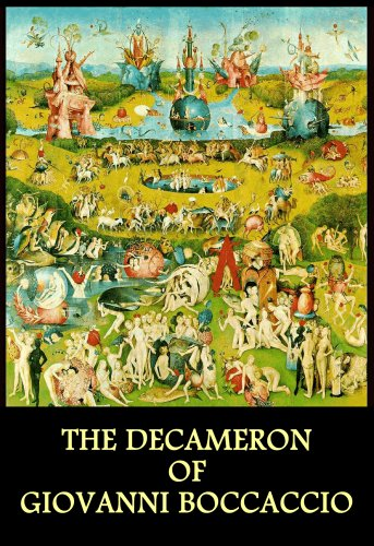 Large book cover: The Decameron