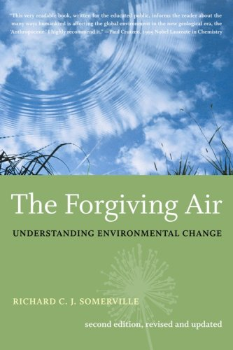 Large book cover: The Forgiving Air: Understanding Environmental Change