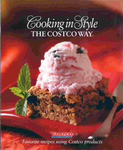 Large book cover: Cooking in Style the Costco Way