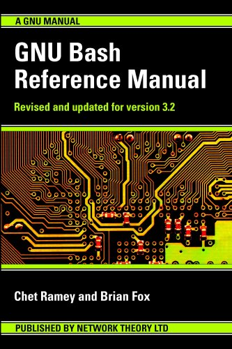 Large book cover: GNU Bash Reference Manual