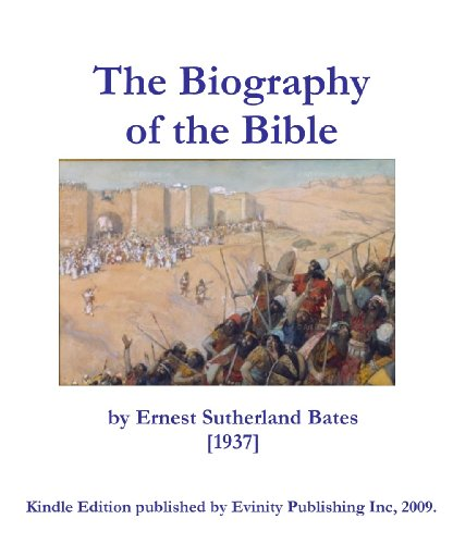 Large book cover: The Biography of the Bible