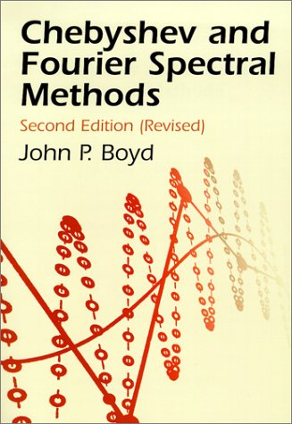 Large book cover: Chebyshev and Fourier Spectral Methods