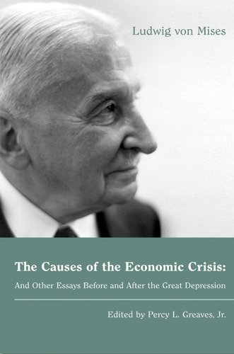 Large book cover: The Causes of the Economic Crisis