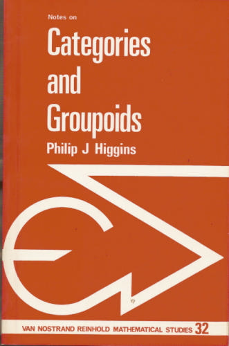 Large book cover: Notes on Categories and Groupoids