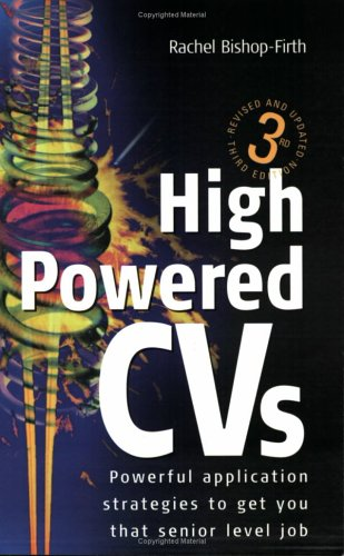 Large book cover: High Powered CVs