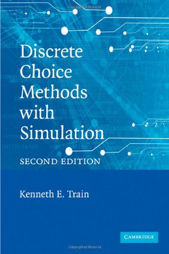 Large book cover: Discrete Choice Methods with Simulation