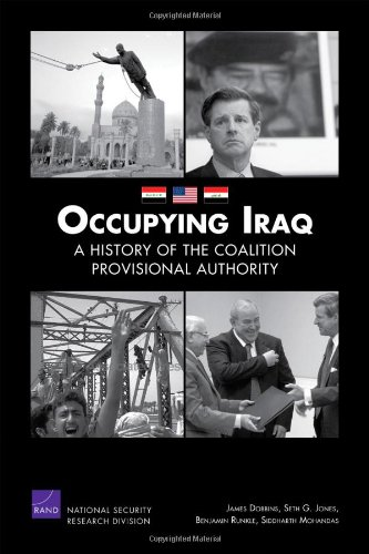 Large book cover: Occupying Iraq: A History of the Coalition Provisional Authority