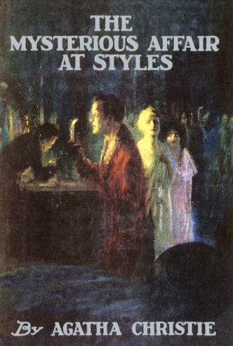 Large book cover: The Mysterious Affair at Styles