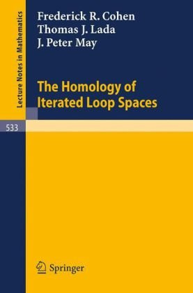 Large book cover: The Homology of Iterated Loop Spaces