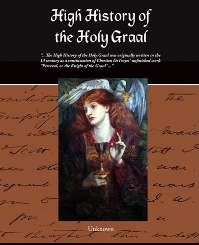 Large book cover: High History of the Holy Graal