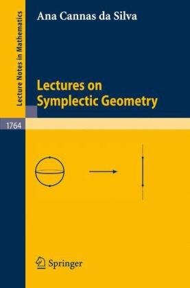 Large book cover: Lectures on Symplectic Geometry