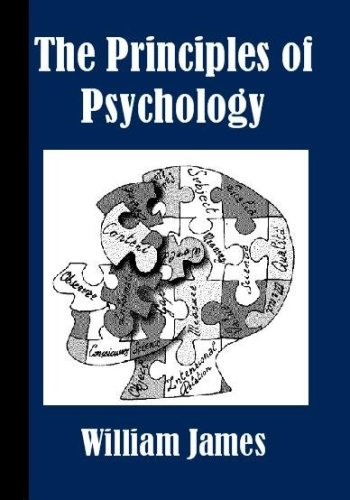 Large book cover: The Principles of Psychology