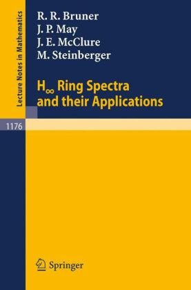 Large book cover: H Ring Spectra and Their Applications