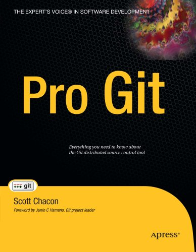 Large book cover: Pro Git