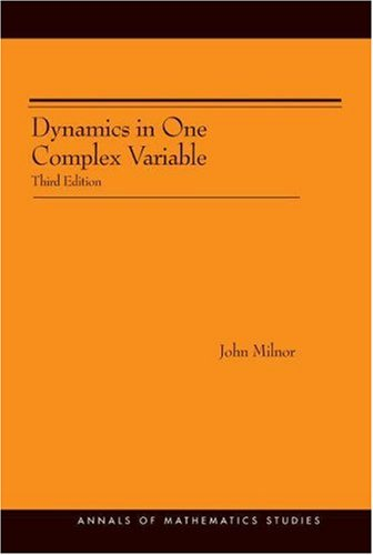 Large book cover: Dynamics in One Complex Variable