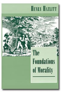 Large book cover: The Foundations of Morality