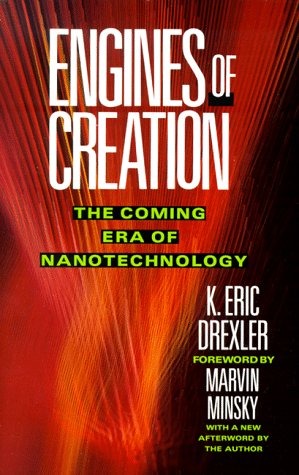 Large book cover: Engines of Creation: The Coming Era of Nanotechnology