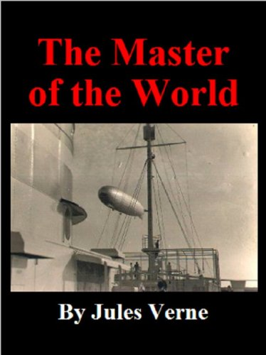 Large book cover: The Master Of The World