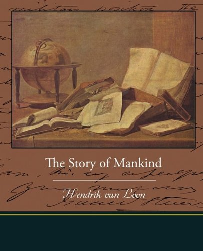Large book cover: The Story of Mankind