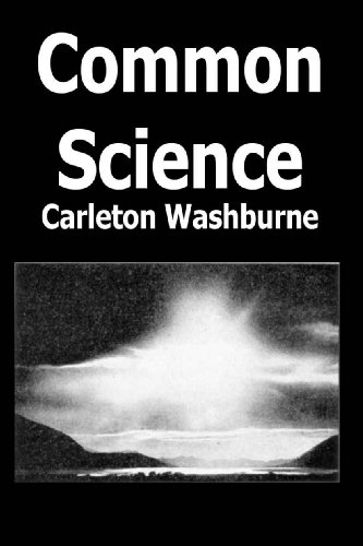 Large book cover: Common Science