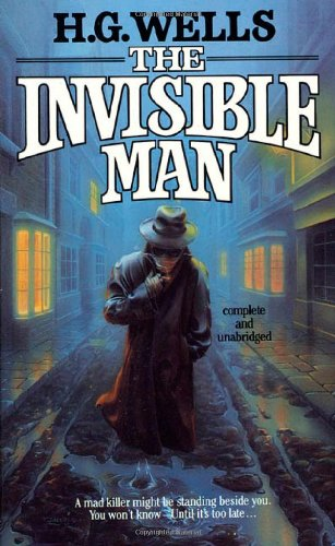 Large book cover: The Invisible Man