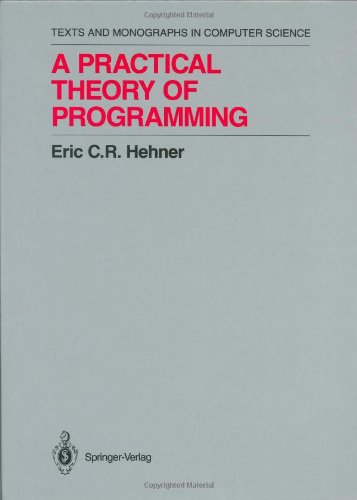 Large book cover: A Practical Theory of Programming