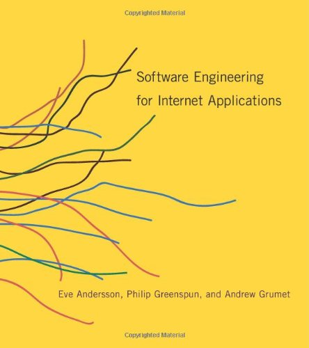 Large book cover: Software Engineering for Internet Applications