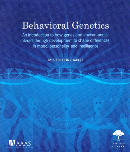Large book cover: Behavioral Genetics