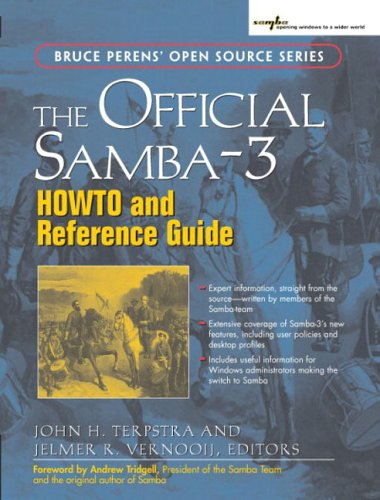 Large book cover: The Official Samba-3 HOWTO and Reference Guide