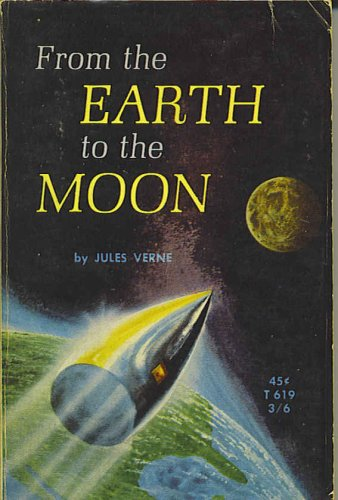Large book cover: From the Earth to the Moon