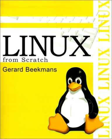 Large book cover: Linux from Scratch