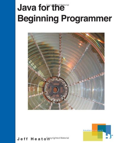 Large book cover: Java for the Beginning Programmer