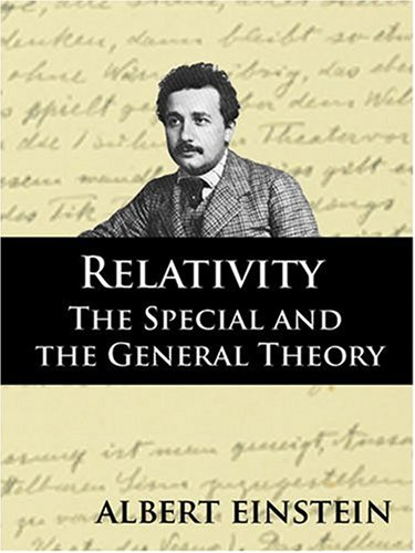 Large book cover: Relativity: The Special and General Theory