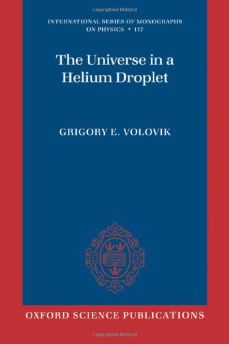 Large book cover: The Universe in a Helium Droplet