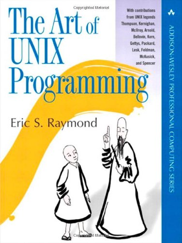 Large book cover: The Art of UNIX Programming