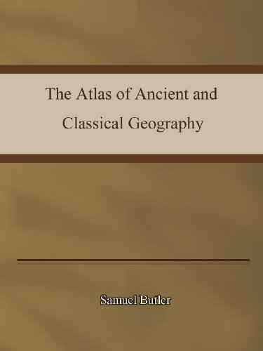 Large book cover: The Atlas of Ancient and Classical Geography