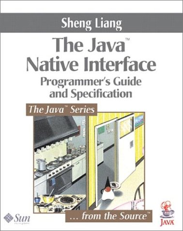 Large book cover: Java Native Interface: Programmer's Guide and Specification