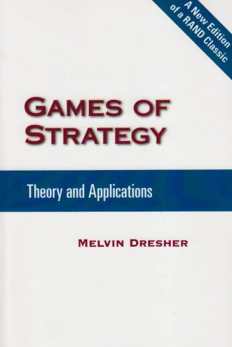 Large book cover: Games of Strategy: Theory and Applications