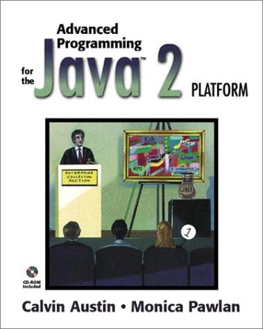 Large book cover: Advanced Programming for the Java 2 Platform