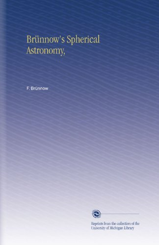 Large book cover: Spherical Astronomy