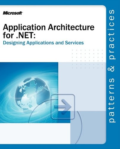 Large book cover: Application Architecture for .NET: Designing Applications and Services