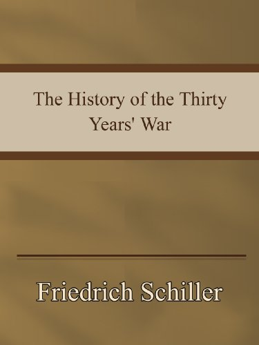 Large book cover: The History of the Thirty Years' War