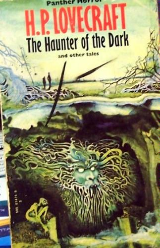 Large book cover: The Haunter of the Dark