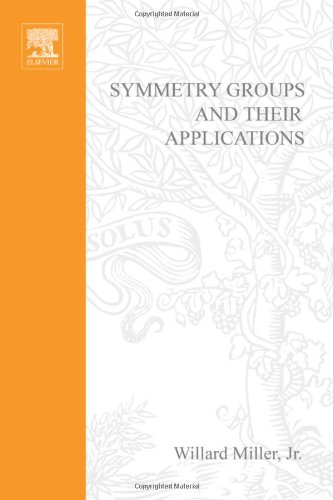 Large book cover: Symmetry Groups and Their Applications
